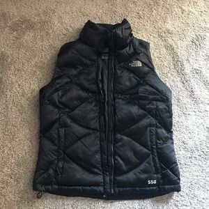 Black north face vest. Accepting offers!
